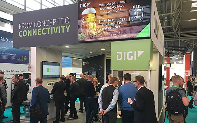 Embedded World 2019: Innovation, Give-Aways and Refreshments in the Digi International Booth