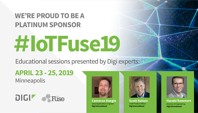 IoTFuse 2019 Featuring the Future of IoT with 5G, CX, and Voice Control