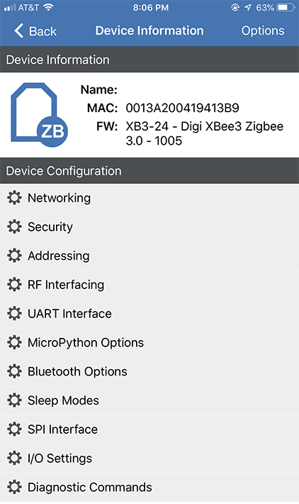 XBee Device Configuration