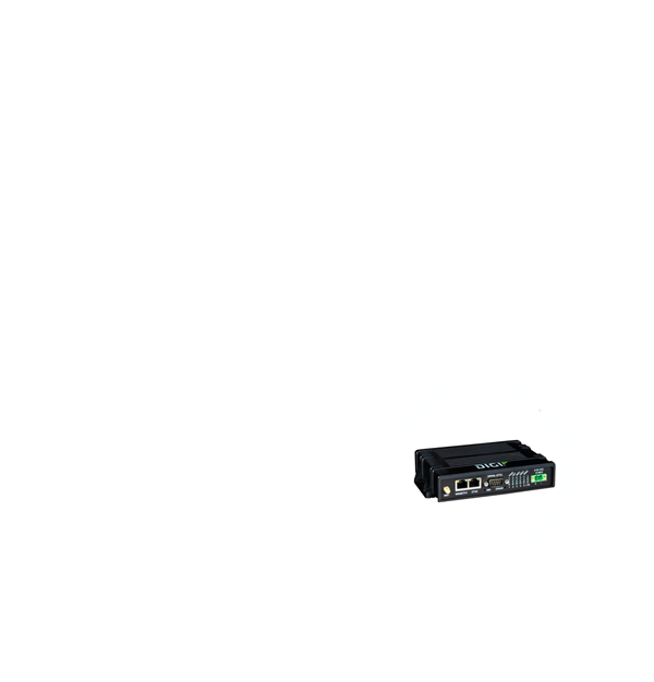 Secure 3G/4G LTE routers for remote ATM connectivity and comprehensive network management tools to maintain network up time.