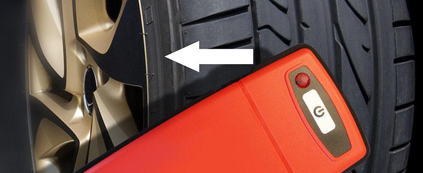 GrooveGlove Scanning Tire