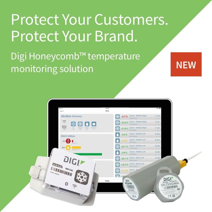 Wireless Food Temperature Monitoring