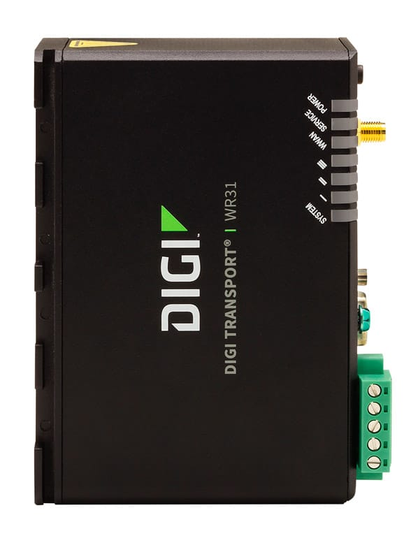 Intelligent 4G LTE router designed for critical infrastructure and