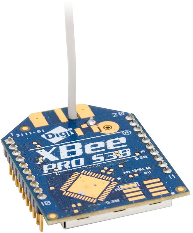 XBP9B-DMWT-002 - XBee-PRO 900HP (S3B) DigiMesh, 900MHz, 250mW, Wire