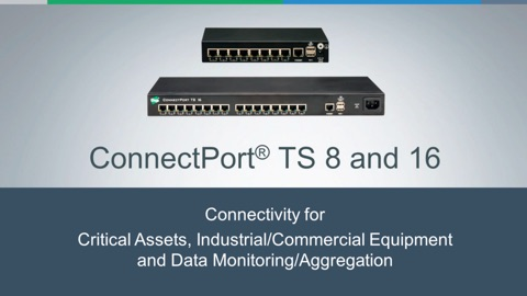 Introducing ConnectPort® TS 16 MEI: The Latest in Serial-to-Ethernet Connectivity