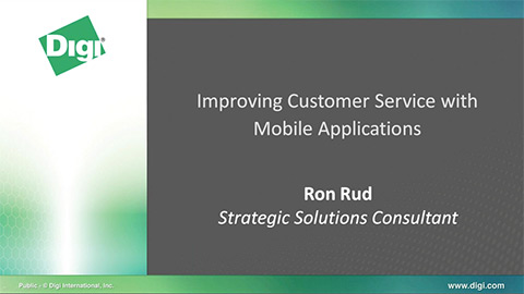 Improving Customer Service With Mobile Applications