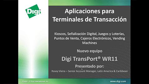 Soluciones M2M para Terminales Remotas: ATM, POS, Juegos/Lotería, Kioscos
